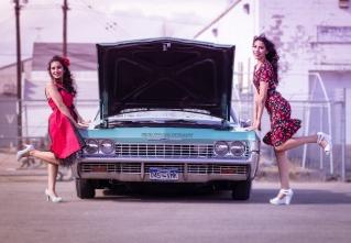 #vintage, pin-up, #impala